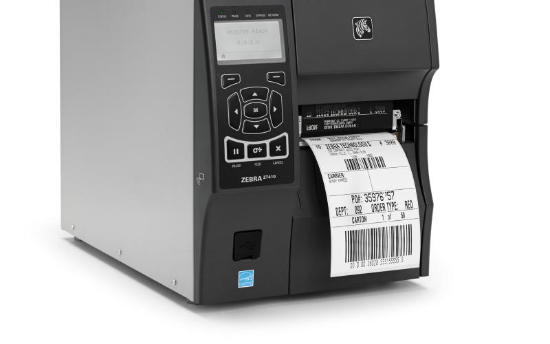 Zebra Z Series label printer