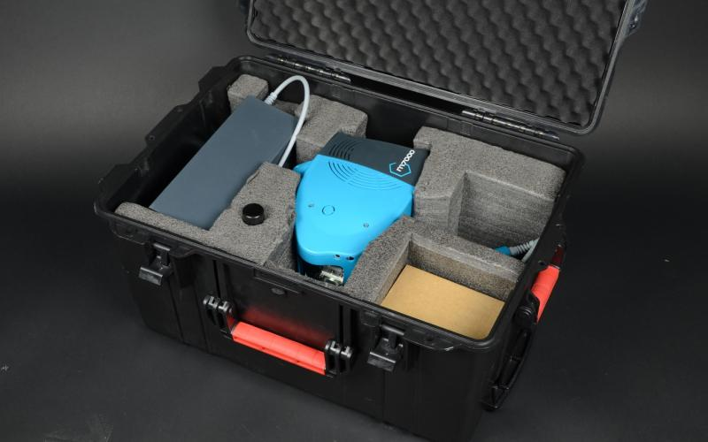 Compact and easy to transport, with an available protective carrying case.