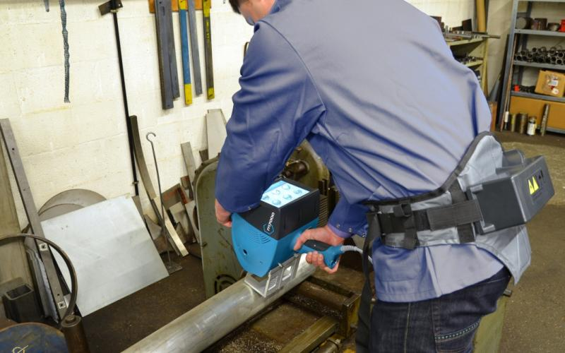 Pro Pen M7000 mobile Stylus indent marking system, available at Menke Marking.