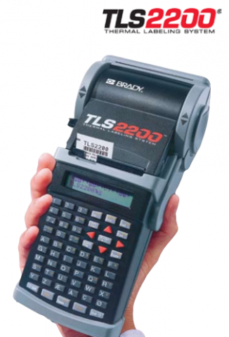 The TLS2200 portable label printer, available at Menke Marking in Los Angeles, CA.
