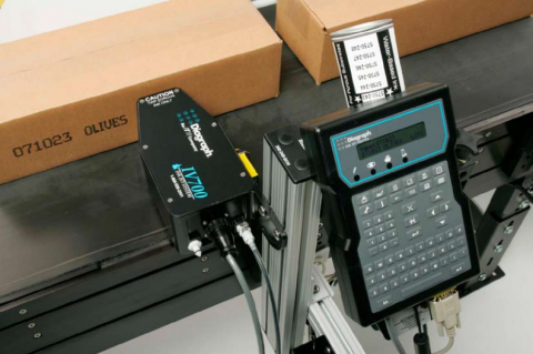 Menke Marking in Los Angeles, CA offers prodcut expertise and service for large character industrial ink jet printing.